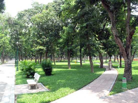 Thong Nhat Park Hanoi Vietnam