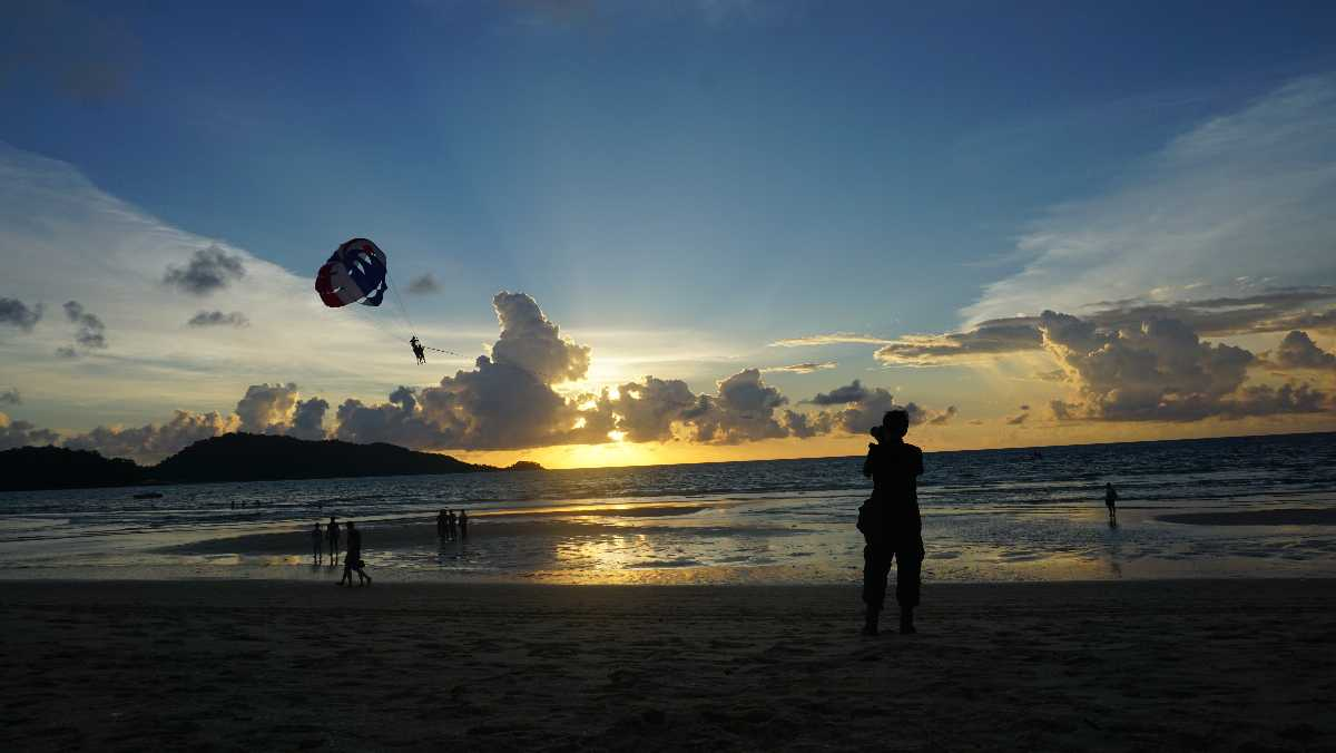 Sunset at Kamala Beach, Phuket