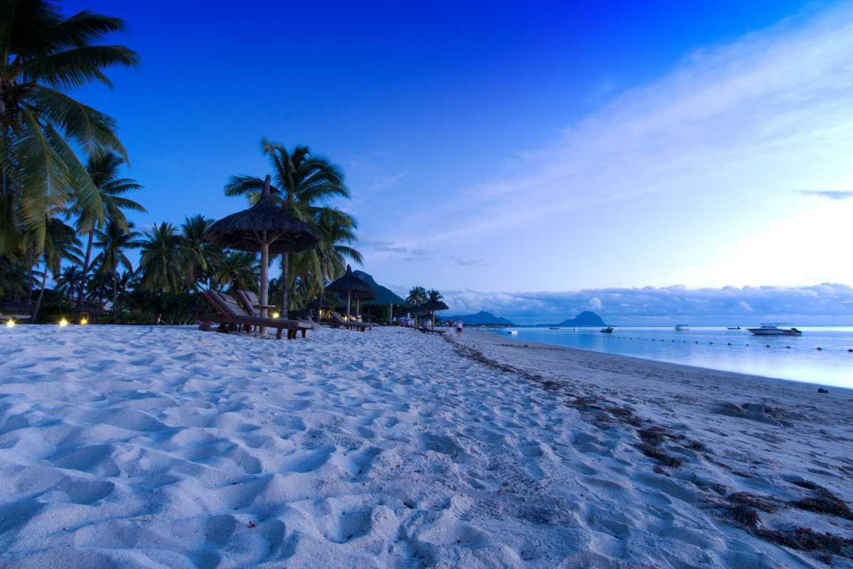 Beaches, Mauritius in October