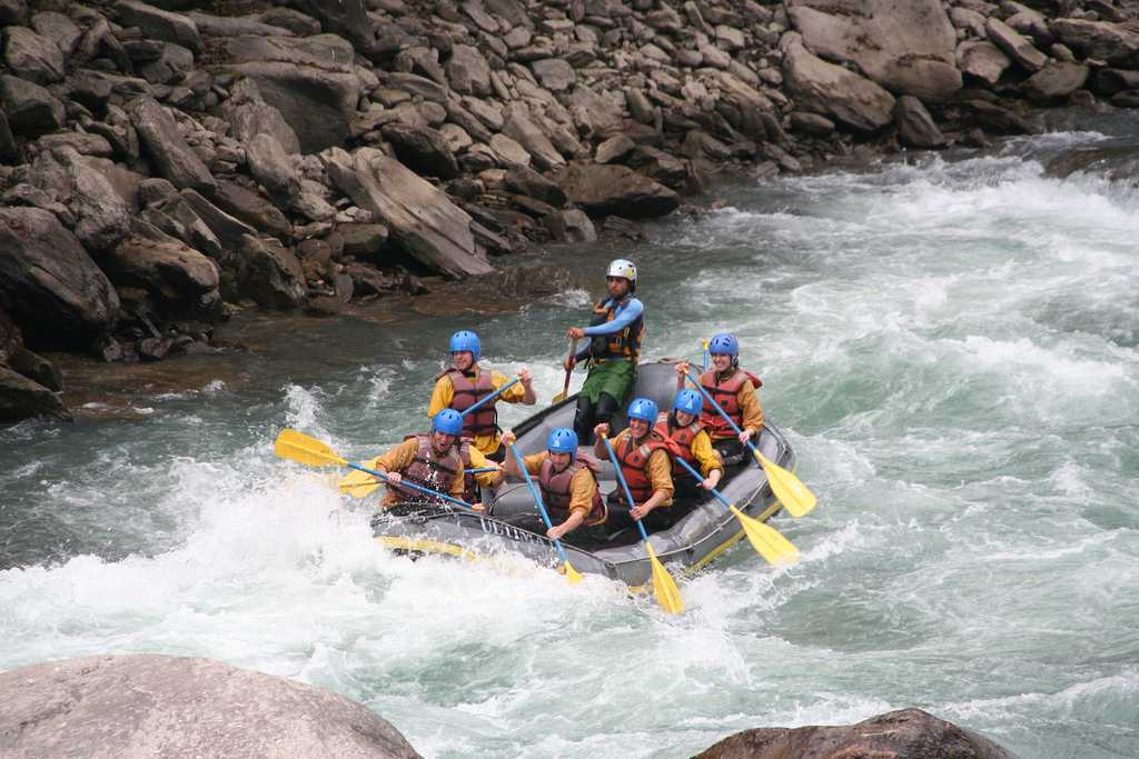 White water rafting at The Last Resort Kathmandu