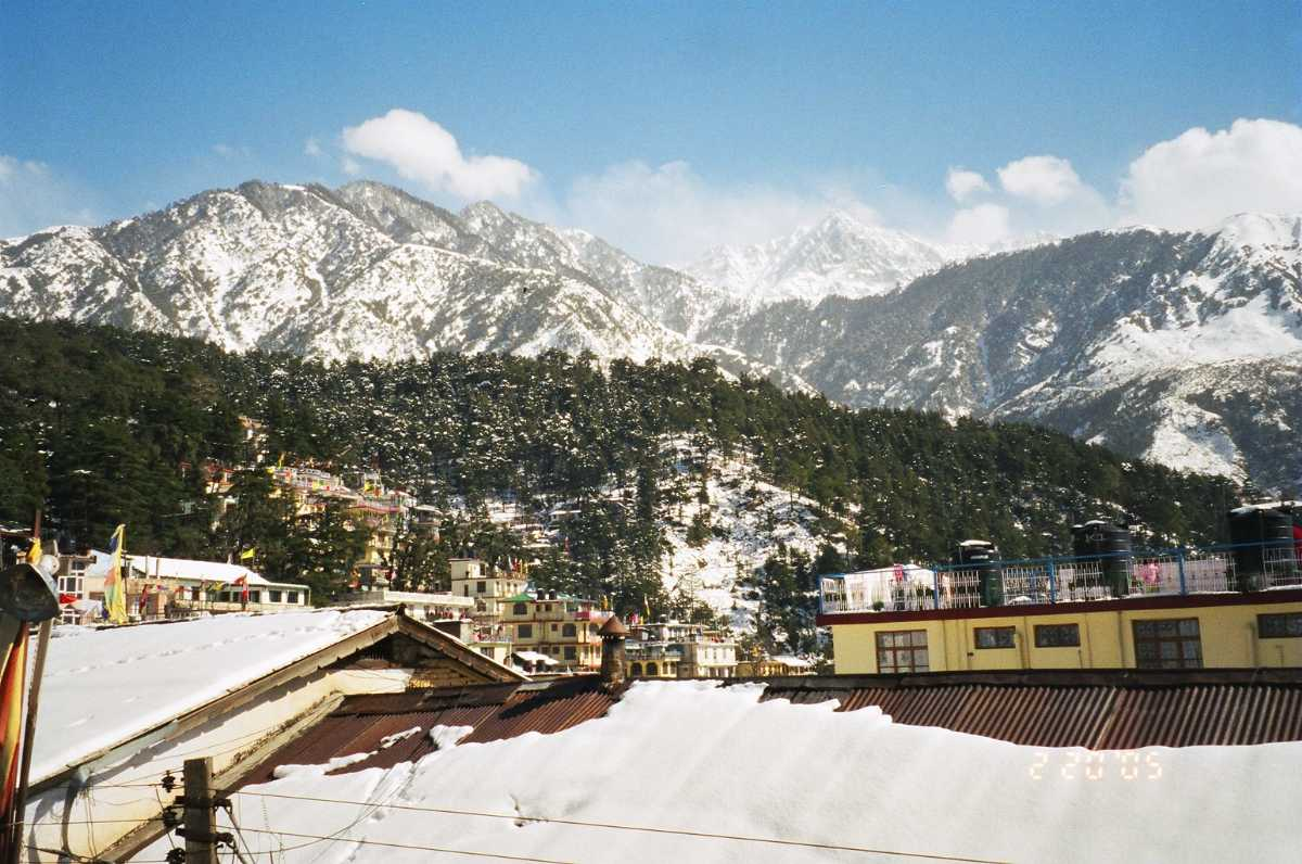 Panoramic View of McLeod Ganj during Winters