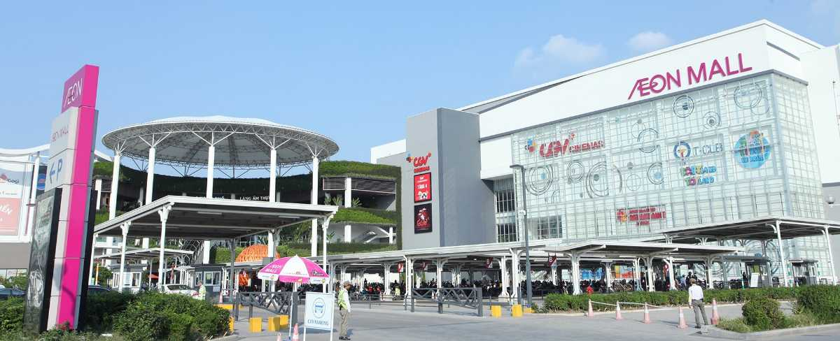Shopping in Vietnam, Aeon Mall Long Bien, Malls in Vietnam