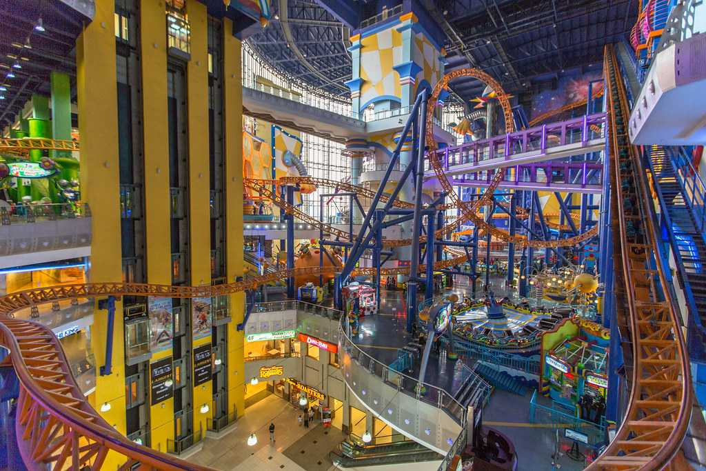 One of the most unique indoor theme parks of the world in its absolute glory at Berjaya Times Square