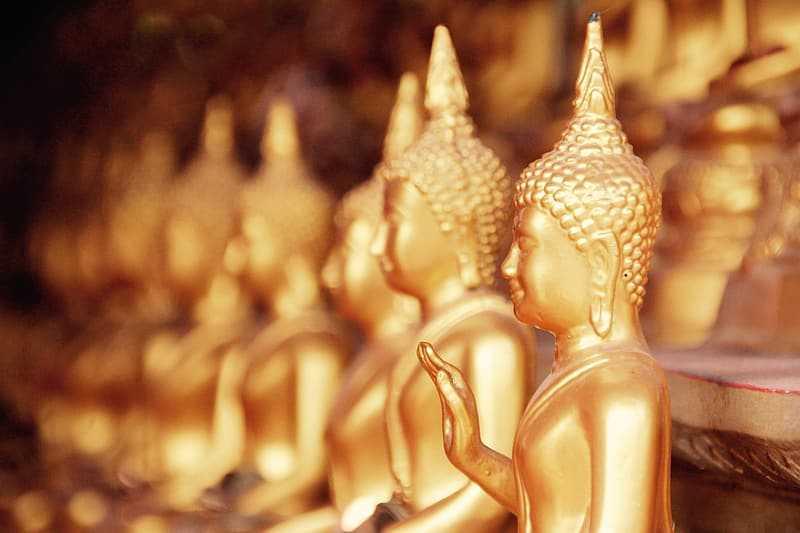 Lord Buddha Figurines