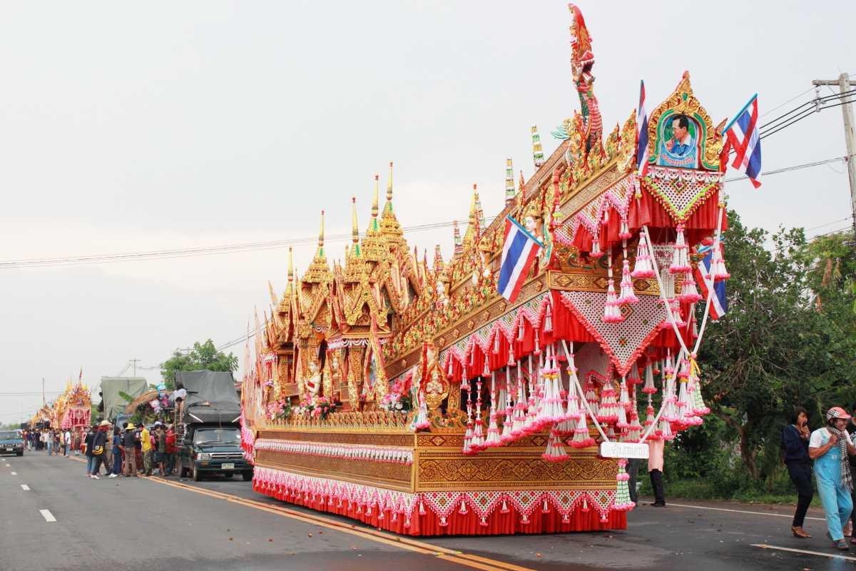 History, Rocket Festival in Thailand