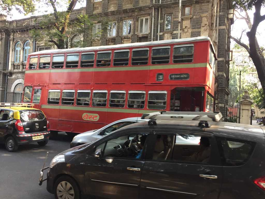 BEST Double decker bus, Mumbai