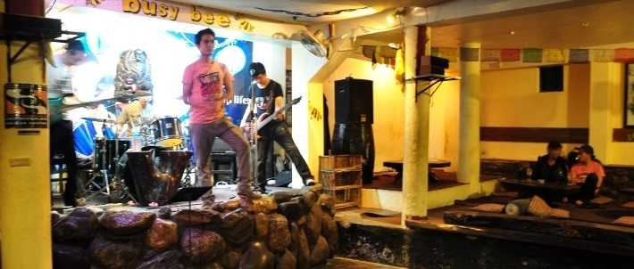 Busy Bee Cafe, Nightlife in Pokhara