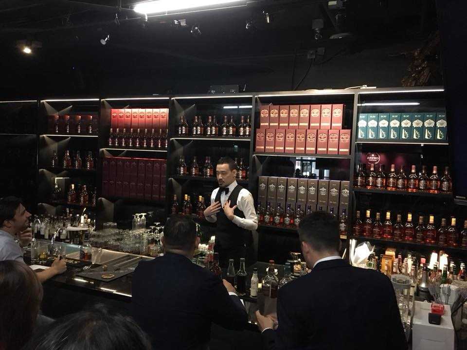 Butler bar in Hong Kong
