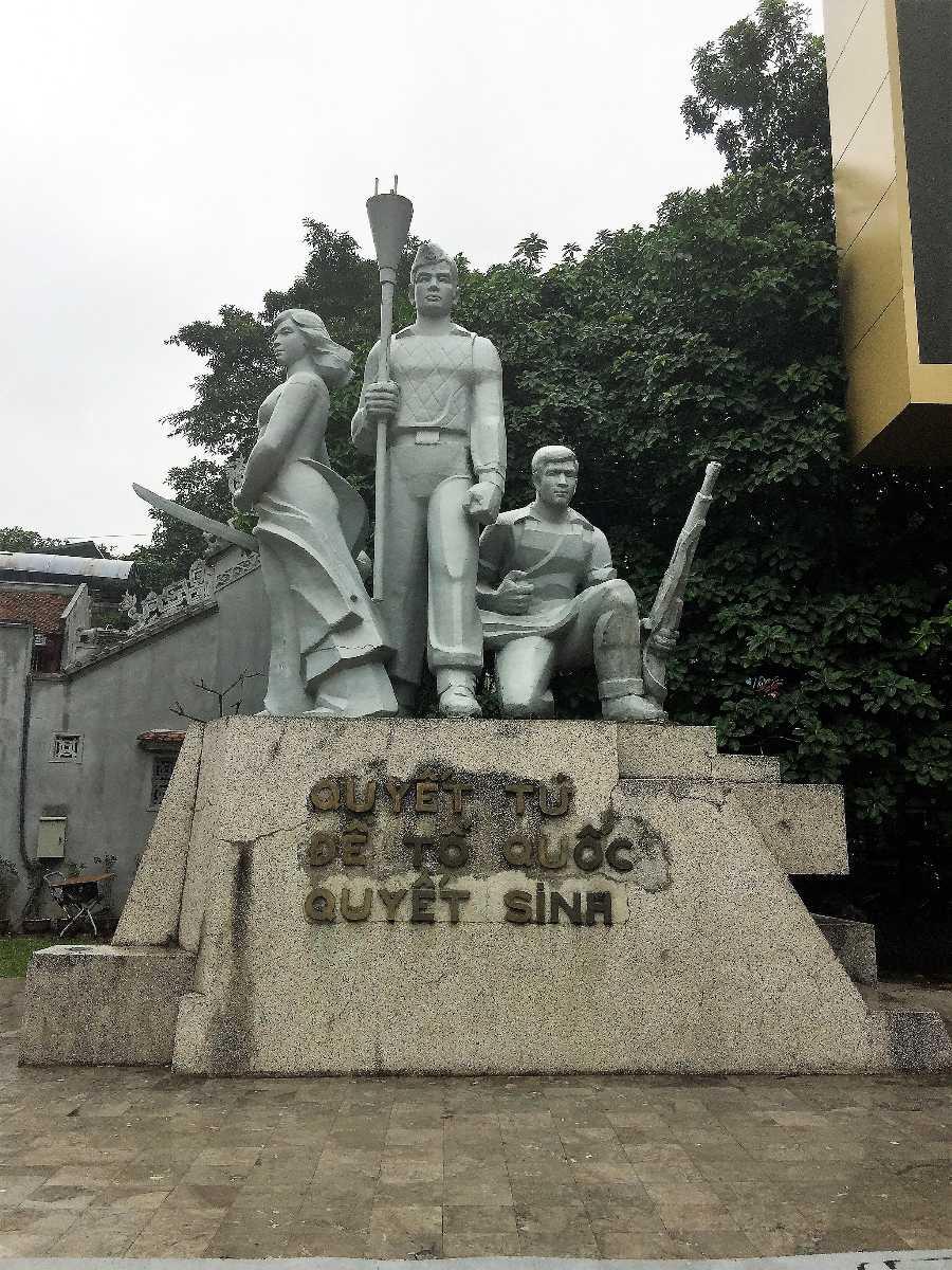 Martyrs Monument Hanoi Vietnam