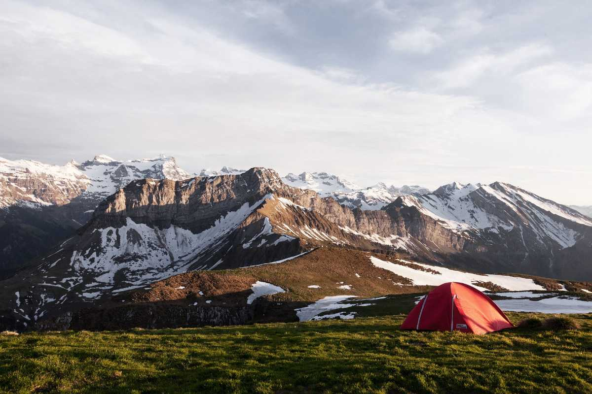 Camping in Nepal