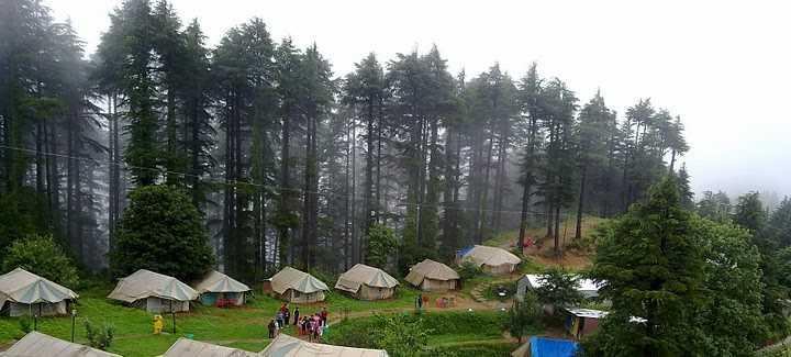 Kanatal, Camping in Uttarakhand
