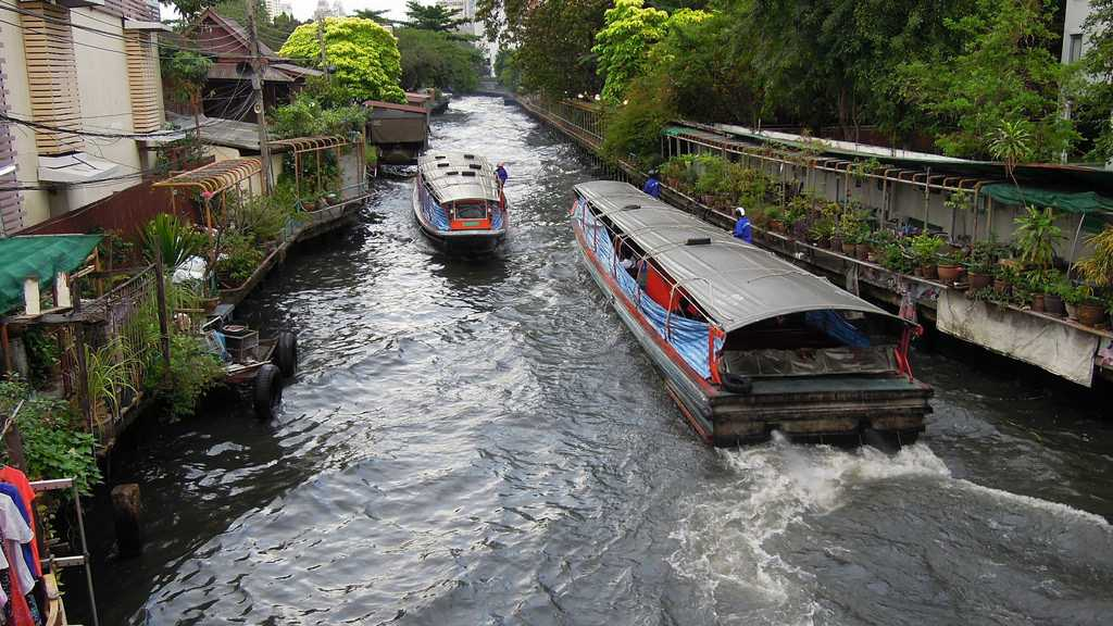 Canals of Chao Phraya River in Bangkok, Facts about Bangkok
