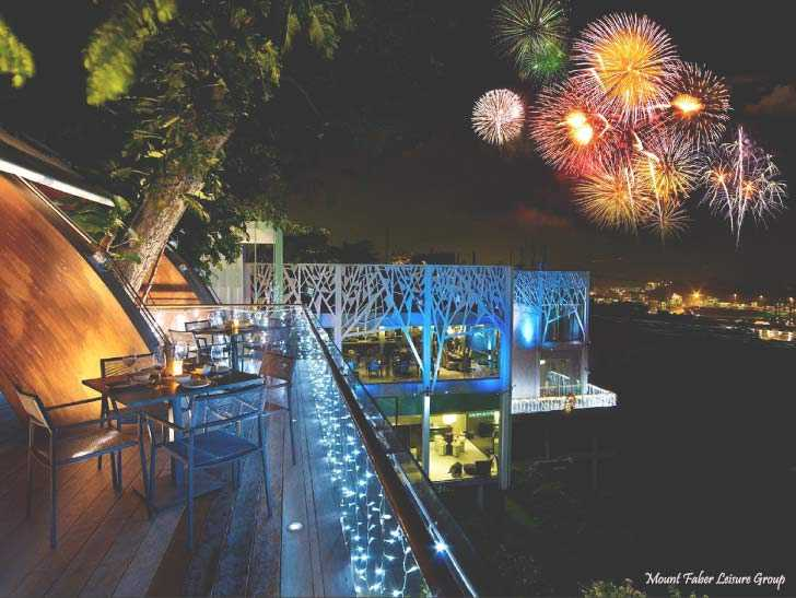 Mount Faber, New Year in Singapore