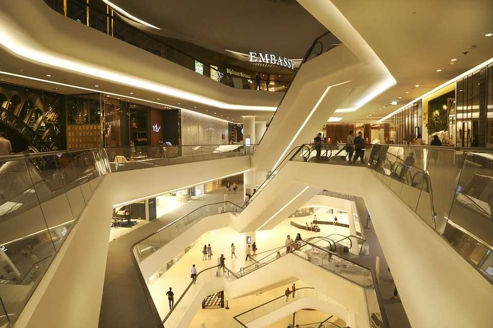 central embassy mall, shopping in thailand