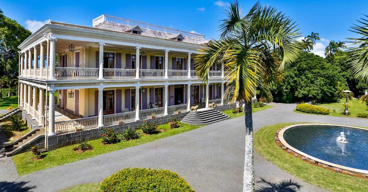 Chateau de Labourdonnais, Mauritius