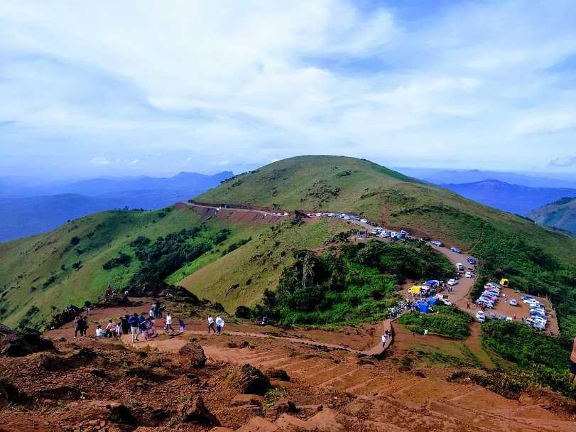 From the Mullayanagiri Peak