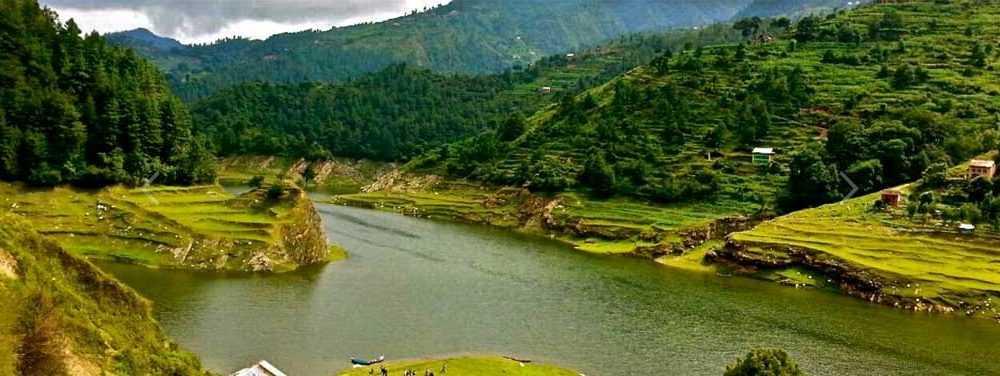 Kulekhani, Indra Sarobar lake, Camping in Nepal