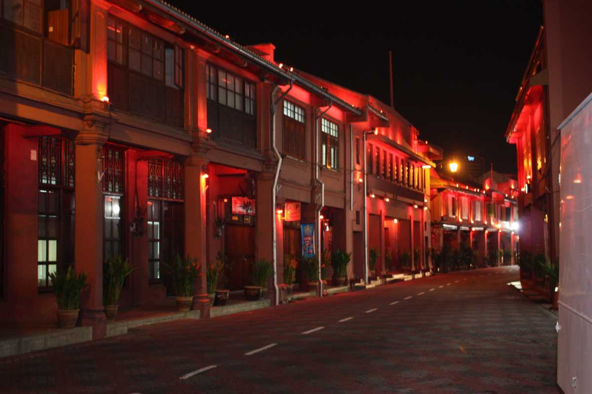 The infamous Red light district of Chow Kit Market