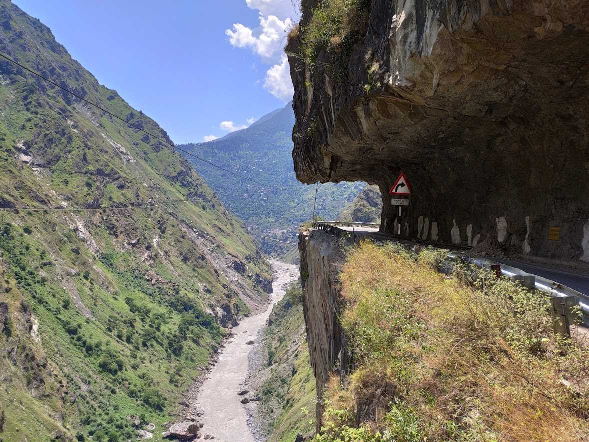Cliffhanger section before Kalpa