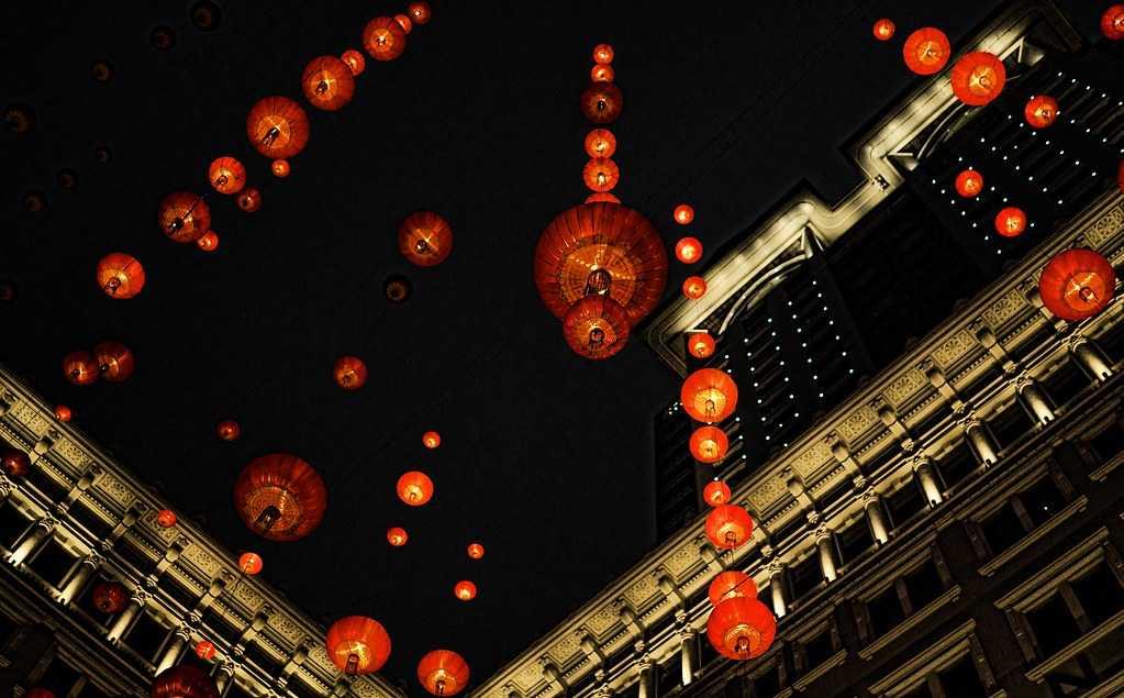 Hong Kong during the Chinese New Year