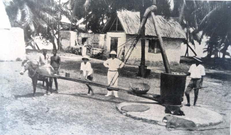 19th century coconut oil mill, History of Mahe
