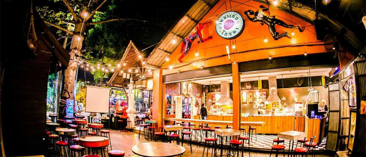 Tha Chang Cafe, Nightlife in Chiang Mai