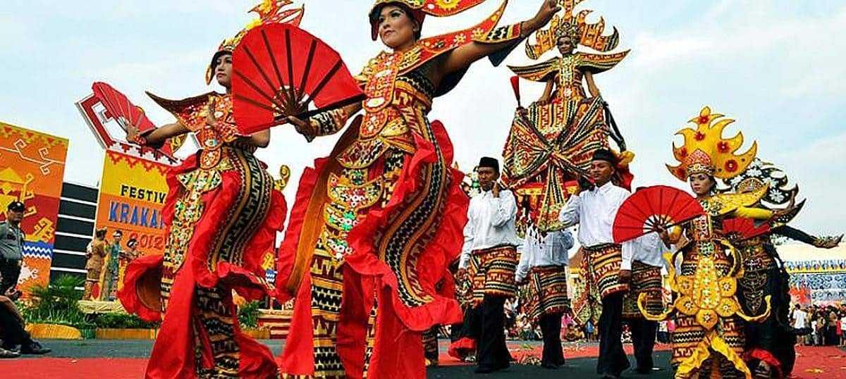Lampung Krakatau Festival in Indonesia