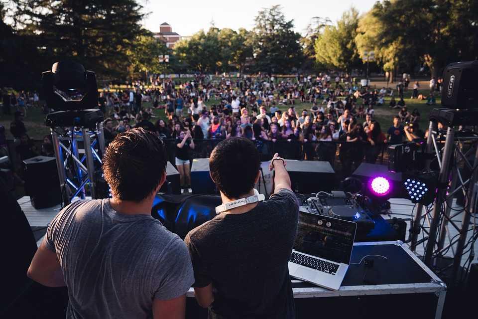 Music concert, Ziro music festival