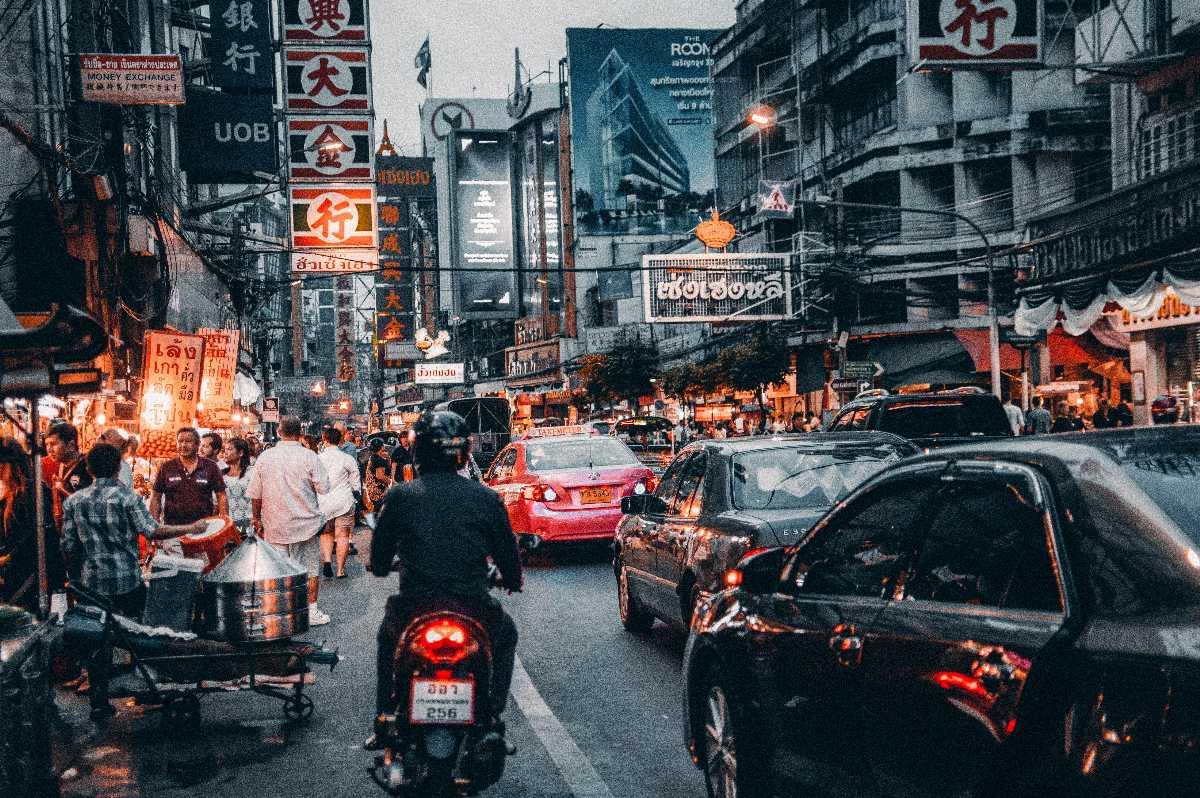 Street Market Thailand