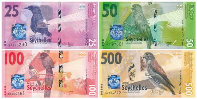Currency notes of Seychelles, Currency Exchange in Seychelles