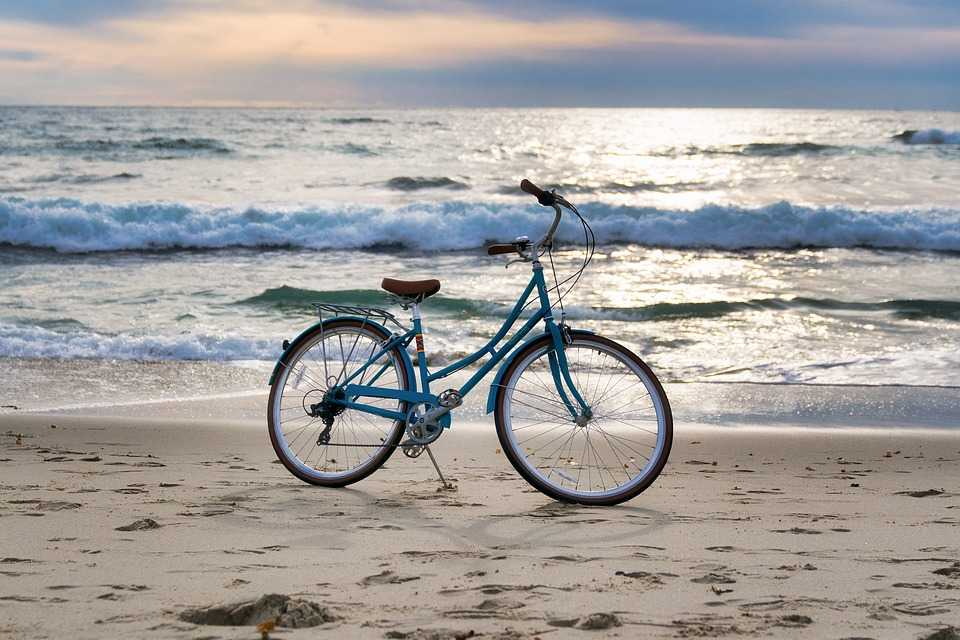 Cycle is a good for local travelling in Maldives