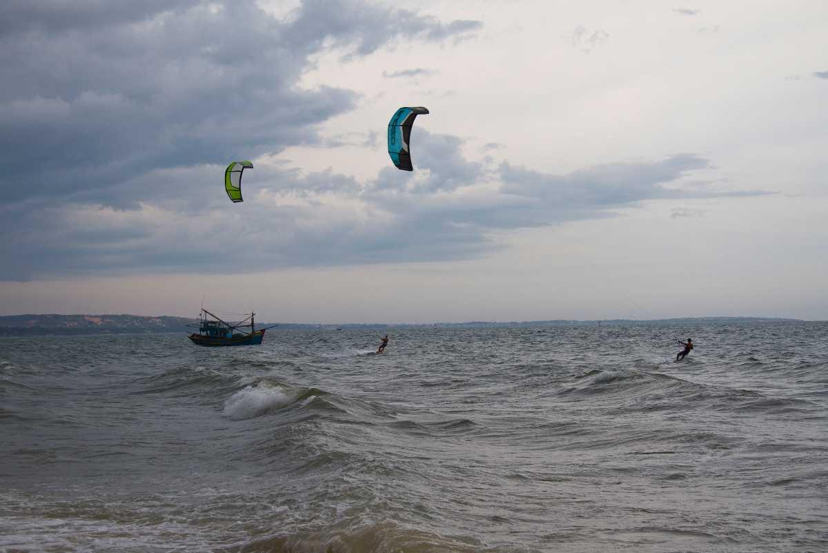Ho Tram Kitesurfing