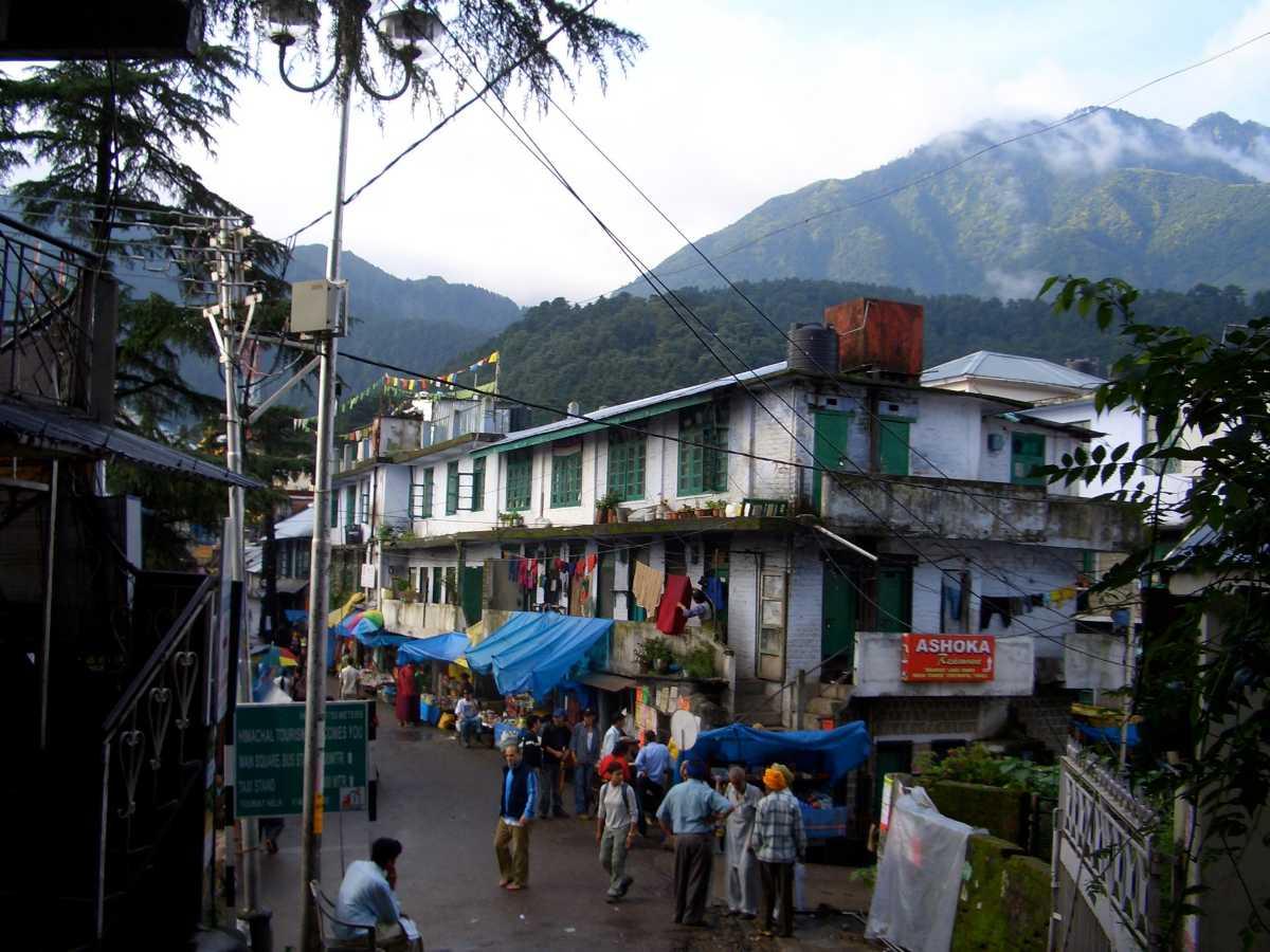 Street of McLeod Ganj