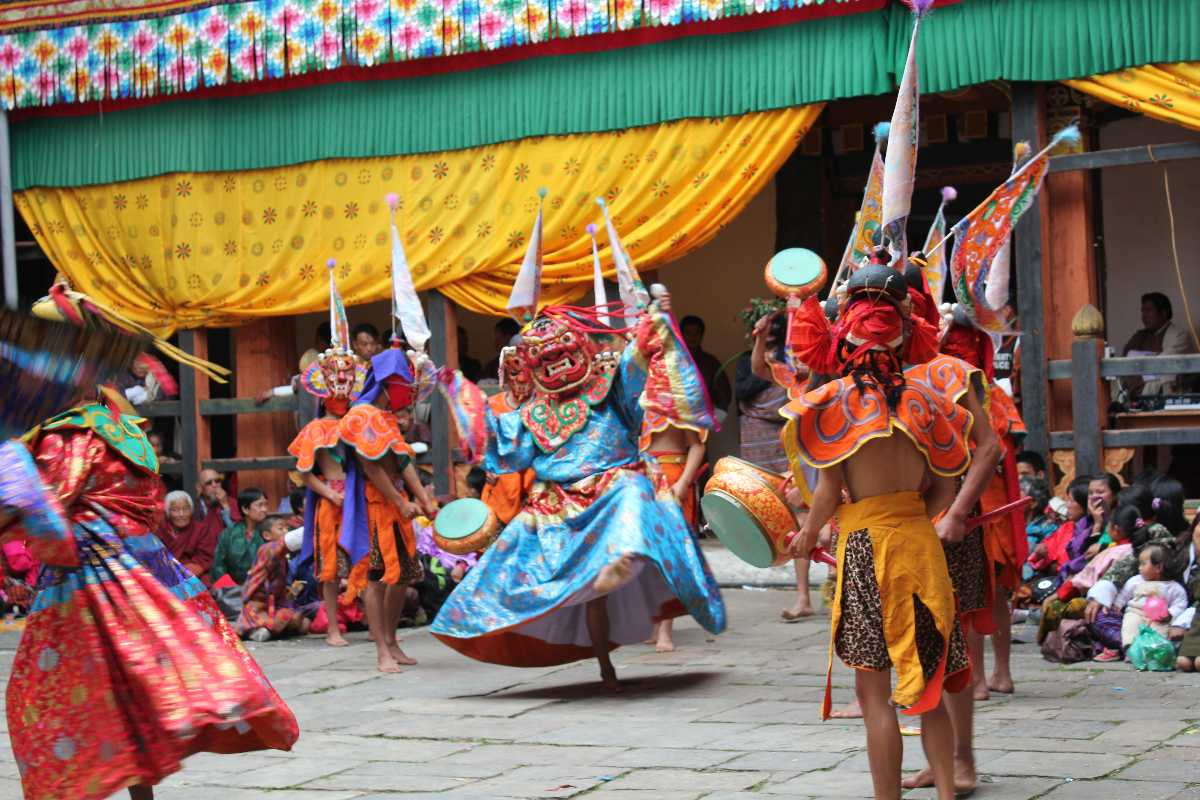 Cham Dance, Dances in Bhutan