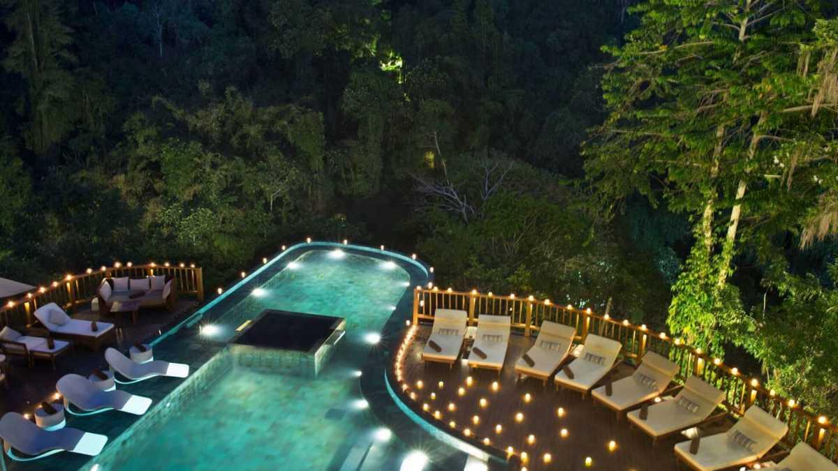 Honeymoon in Bali, Hanging Gardens Ubud