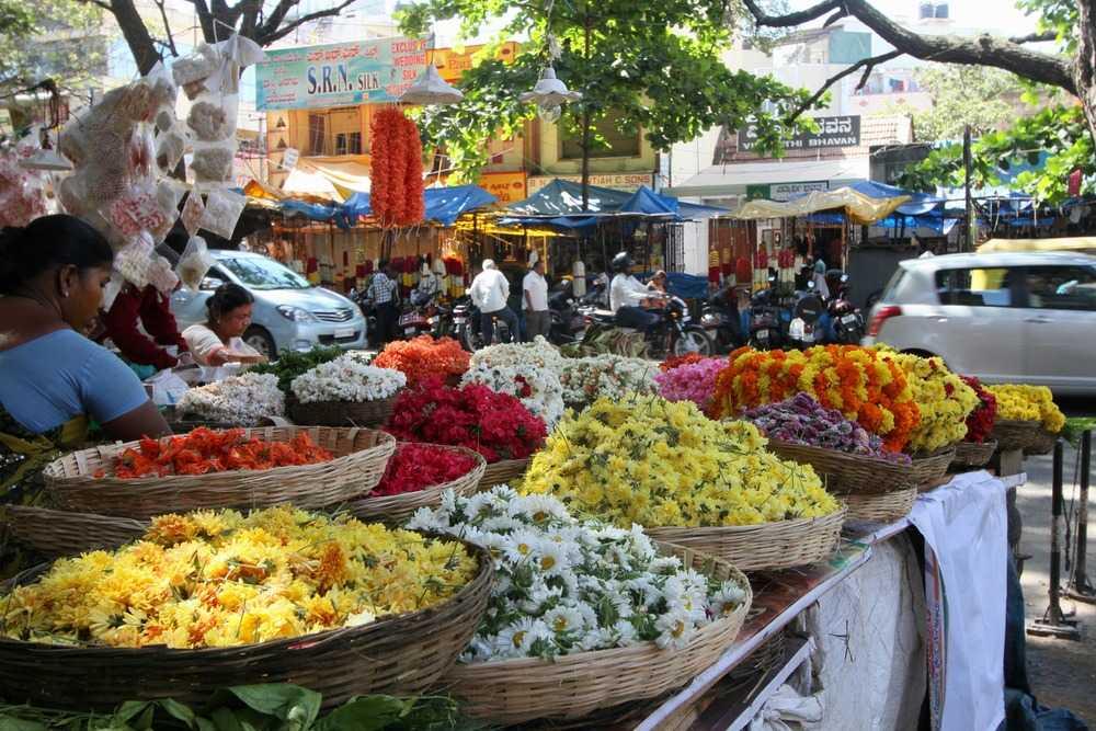 shopping in bangalore, shopping places in bangalore, gandhi bazaar