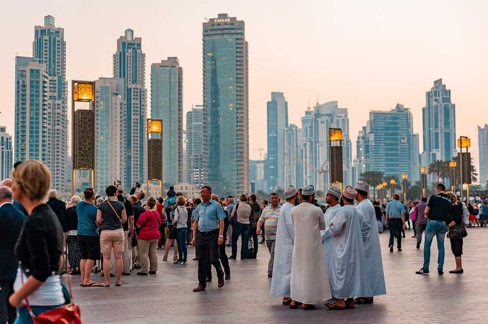 People in Dubai