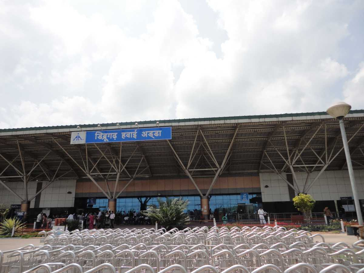 airports in assam, dibrugarh airport