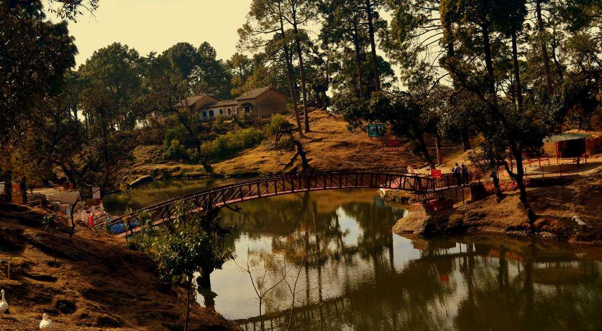 Bulla Tal Lake in Lansdowne town of Uttarakhand