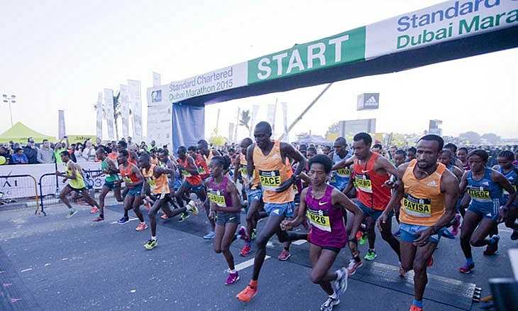 The Dubai Marathon, Festivals in Dubai