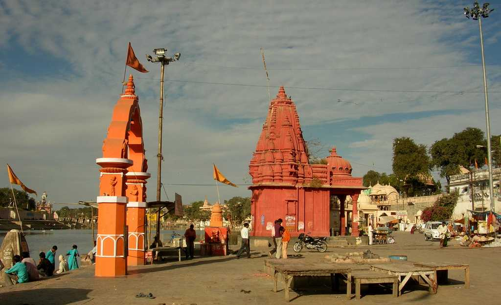 Ram Ghat near Kshipra River