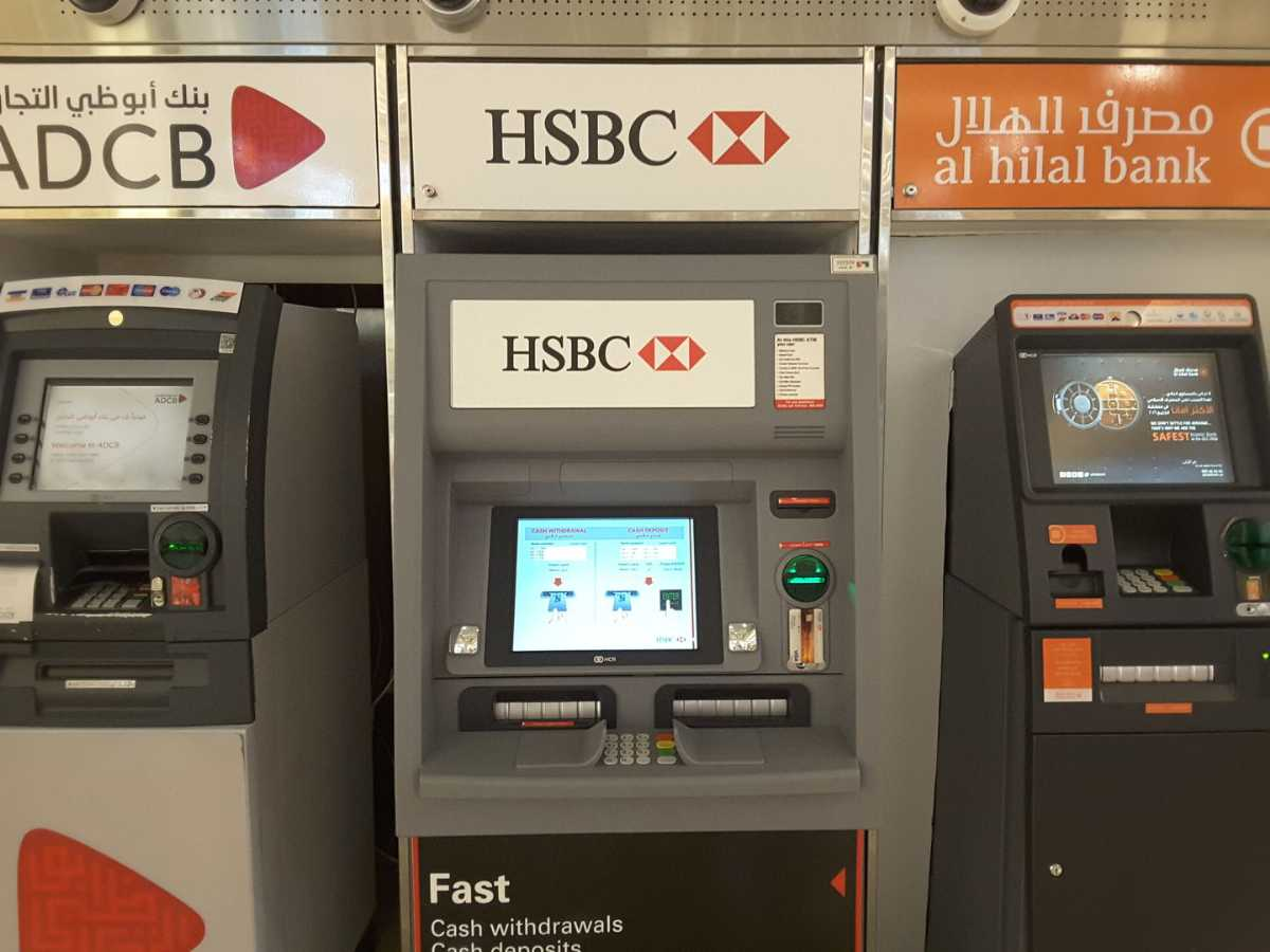 ATM in dubai