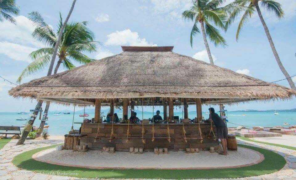 Coco Tam Restaurant in Fisherman's Village Koh Samui