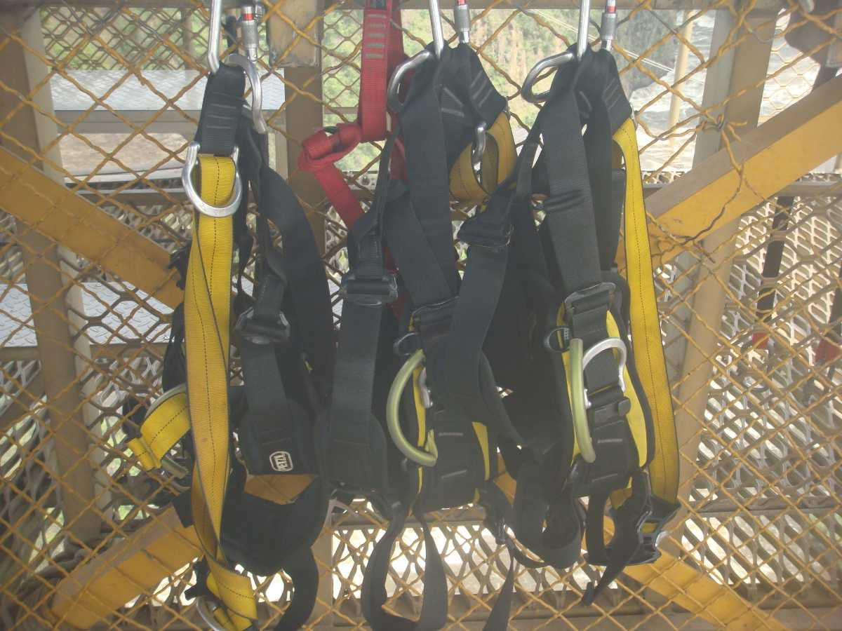 Equipments for Bungee Jumping, Phuket