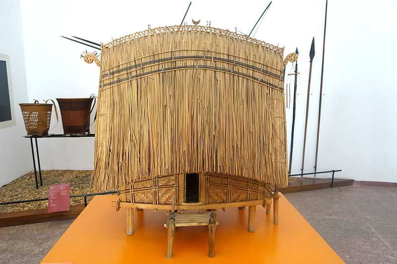Communal House Model at Vietnam Museum of Ethnology