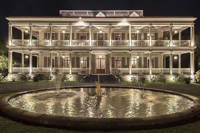 Chateau De Labourdonnais, Mauritius in November