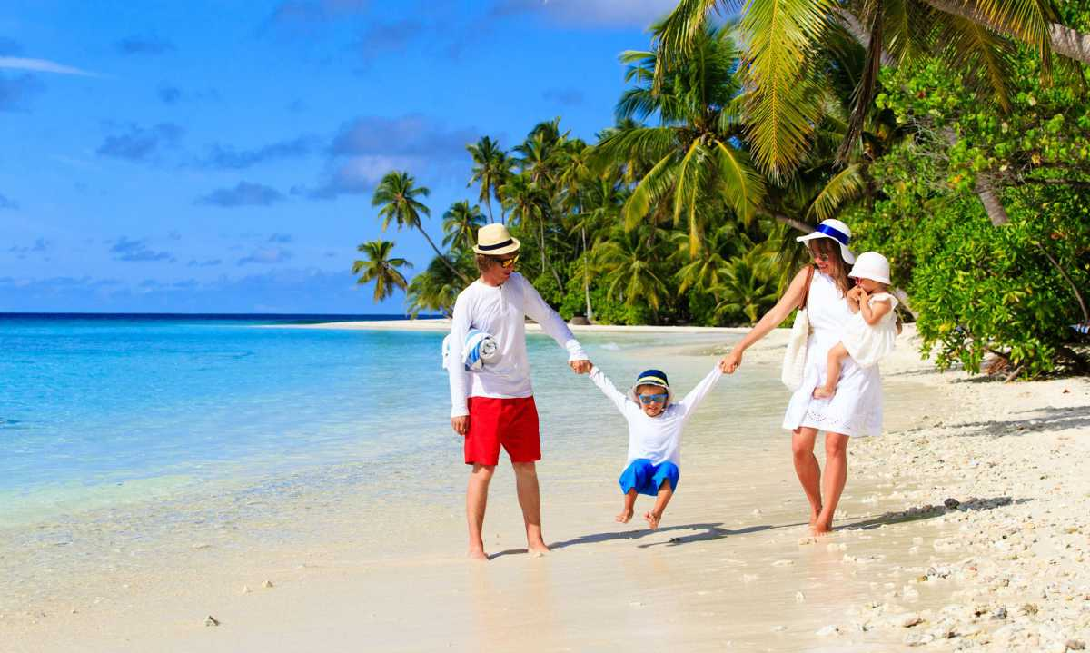 Family trip to Maldives