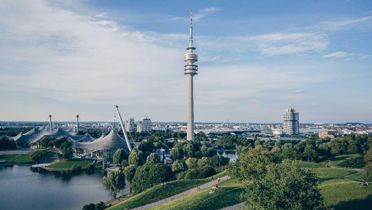 Fernsehturm, the TV Tower, Berlin