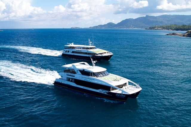 Ferries, Commuting within Seychelles