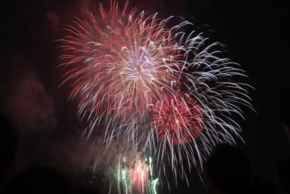 Fireworks at Ho Chi Minh